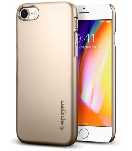 "Auksinės spalvos dėklas Apple iPhone 7/8 telefonui ""Spigen Thin Fit"""
