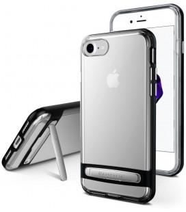 """Juodas silikoninis dėklas Apple iPhone 6/6s telefonui """"Mercury Goospery Dream Bumper"""""""