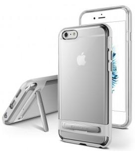 """Sidabrinės spalvos silikoninis dėklas Apple iPhone 7/8 telefonui """"Mercury Goospery Dream Bumper"""""""
