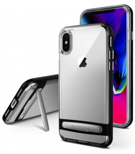 "Juodas silikoninis dėklas Apple iPhone X telefonui ""Mercury Goospery Dream Bumper"""