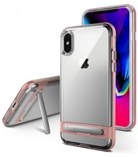 """Rausvai auksinės spalvos silikoninis dėklas Apple iPhone X telefonui """"Mercury Goospery Dream Bumper"""""""
