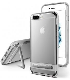 """Sidabrinės spalvos silikoninis dėklas Apple iPhone 7 Plus / 8 Plus telefonui """"Mercury Goospery Dream Bumper"""""""