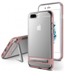 """Rausvai auksinės spalvos silikoninis dėklas Apple iPhone 7 Plus / 8 Plus telefonui """"Mercury Goospery Dream Bumper"""""""