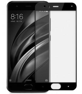 """Juodas apsauginis grūdintas stiklas Xiaomi Mi6 telefonui """"Mocolo"""""""