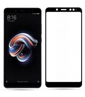"""Juodas apsauginis grūdintas stiklas Xiaomi Redmi Note 5 telefonui """"Mocolo"""""""