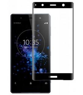 """Juodas apsauginis grūdintas stiklas Sony Xperia XZ2 Premium telefonui """"Mocolo"""""""