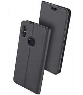 """Pilkas atverčiamas dėklas Xiaomi Redmi Note 5 telefonui """"Dux Ducis Skin"""""""