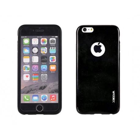 """Juodas plonas 0,3mm dėklas Huawei P8 telefonui """"Jelly Case Ultra Slim"""""""