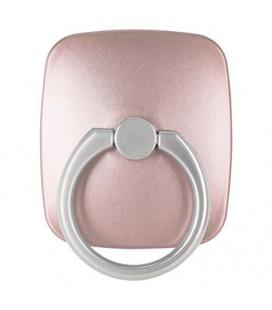"""Rausvai auksinės spalvos universalus telefono laikiklis ant piršto - žiedas """"Goospery Wow Ring"""""""