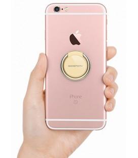 """Auksinės spalvos universalus telefono laikiklis ant piršto - žiedas """"Mercury Ring"""""""