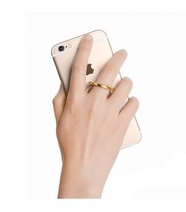 """5D Lenktas auksinės spalvos apsauginis grūdintas stiklas Apple iPhone 7 telefonui """"Full Glue"""""""
