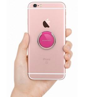 """Rožinis universalus telefono laikiklis ant piršto - žiedas """"Mercury Ring"""""""