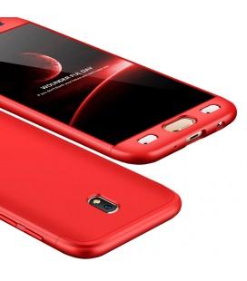"""Raudonas dėklas Samsung Galaxy J5 2017 telefonui """"360"""""""