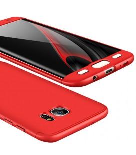 """Raudonas dėklas Samsung Galaxy S7 Edge telefonui """"360"""""""