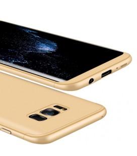 """Auksinės spalvos dėklas Samsung Galaxy S8 Plus telefonui """"360"""""""