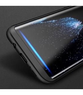 "Juodas dėklas Huawei P20 Lite telefonui ""Spigen Liquid Air"""