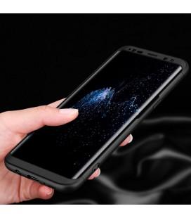 """Juodas apsauginis grūdintas stiklas Huawei P20 Lite telefonui """"Mocolo"""""""
