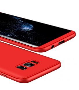 """Rausvai auksinės spalvos atverčiamas dėklas Samsung Galaxy J5 2017 telefonui """"Dux Ducis Skin"""""""
