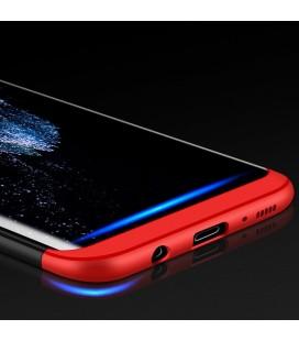 """Pilkas atverčiamas dėklas Samsung Galaxy J3 2017 telefonui """"Dux Ducis Skin"""""""