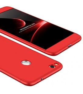 """Raudonas dėklas Huawei P8/P9 Lite 2017 telefonui """"360"""""""