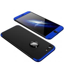 """Juodas/mėlynas dėklas Apple iPhone 8 telefonui """"360"""""""