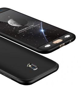 """Juodas dėklas Samsung Galaxy J7 2017 telefonui """"360"""""""