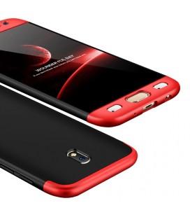 """Juodas odinis atverčiamas dėklas Samsung Galaxy S9 Plus telefonui """"iCarer Vintage"""""""