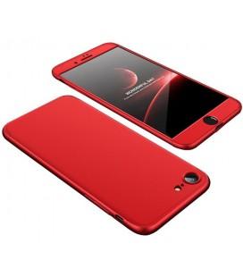 """Raudonas dėklas Apple iPhone 7 telefonui """"360"""""""