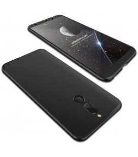 """Juodas dėklas Huawei Mate 10 Lite telefonui """"360"""""""