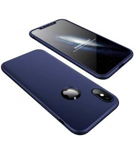 """Mėlynas dėklas Apple iPhone X telefonui """"360"""""""