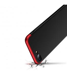 """Rausvai auksinės spalvos atverčiamas dėklas Huawei P20 Lite telefonui """"Dux Ducis Skin"""""""