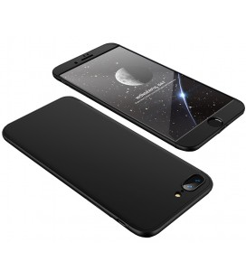 """Juodas dėklas Apple iPhone 7 Plus / 8 Plus telefonui """"360"""""""
