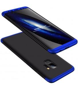 """Juodas/mėlynas dėklas Samsung Galaxy S9 telefonui """"360"""""""