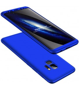 """Mėlynas dėklas Samsung Galaxy S9 telefonui """"360"""""""