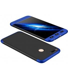 """Juodas/mėlynas dėklas Xiaomi Mi5X (Mi 5X, Mi A1) telefonui """"360"""""""