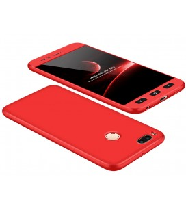 "Raudonas dėklas Xiaomi Mi5X (Mi 5X, Mi A1) telefonui ""360"""