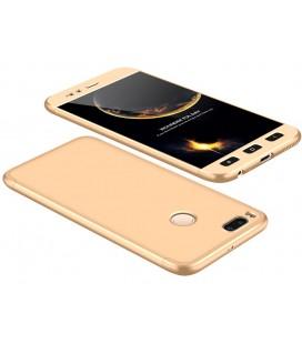 """Auksinės spalvos dėklas Xiaomi Mi5X (Mi 5X, Mi A1) telefonui """"360"""""""