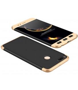 """Juodas/auksinės spalvos dėklas Xiaomi Mi5X (Mi 5X, Mi A1) telefonui """"360"""""""