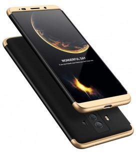 """Juodas/auksinės spalvos dėklas Huawei Mate 10 Pro telefonui """"360"""""""