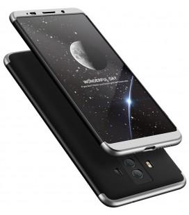 """Juodas/sidabrinės spalvos dėklas Huawei Mate 10 Pro telefonui """"360"""""""