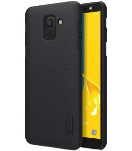 """Juodas dėklas Samsung Galaxy J6 2018 telefonui """"Nillkin Frosted Shield"""""""