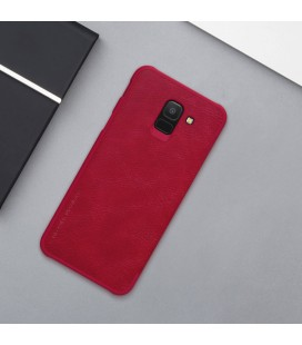 """Rausvai auksinės spalvos dėklas Samsung Galaxy J3 2017 telefonui """"Flower"""""""