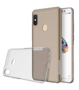 """Pilkas silikoninis dėklas Xiaomi Redmi Note 5 telefonui """"Nillkin Nature"""""""
