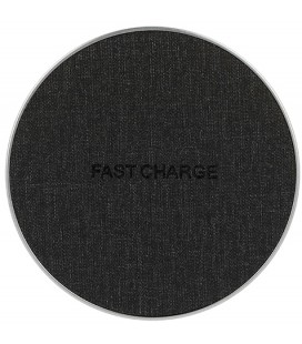 "Universalus juodas belaidis Fast Charge telefonų pakrovėjas ""FC02"""