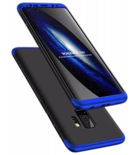 """Juodas/mėlynas dėklas Samsung Galaxy S9 Plus telefonui """"360"""""""