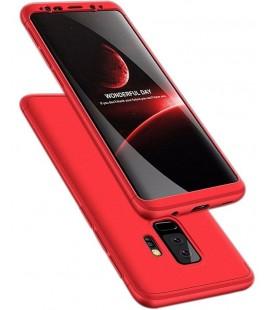 """Raudonas dėklas Samsung Galaxy S9 Plus telefonui """"360"""""""