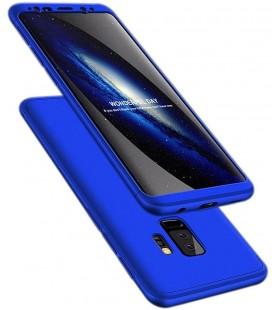 """Mėlynas dėklas Samsung Galaxy S9 Plus telefonui """"360"""""""