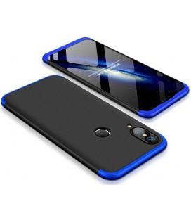 """Juodas/mėlynas dėklas Huawei P20 Lite telefonui """"360"""""""