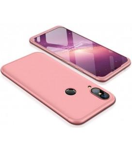 """Rausvai auksinės spalvos dėklas Huawei P20 Lite telefonui """"360"""""""