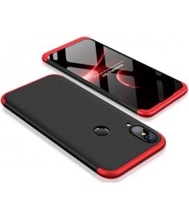 """Juodas/raudonas dėklas Huawei P20 Lite telefonui """"360"""""""